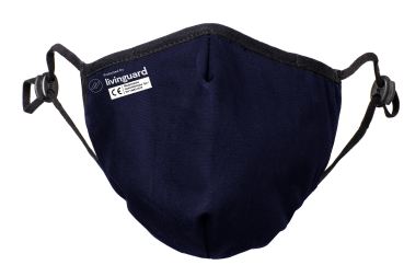Livinguard Maske Pro Navy Blue - Family 4er Pack