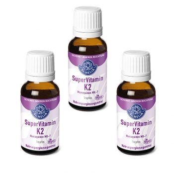 St. Helia Super Vitamin K2, Tropfen, 3x 20 ml, vegan